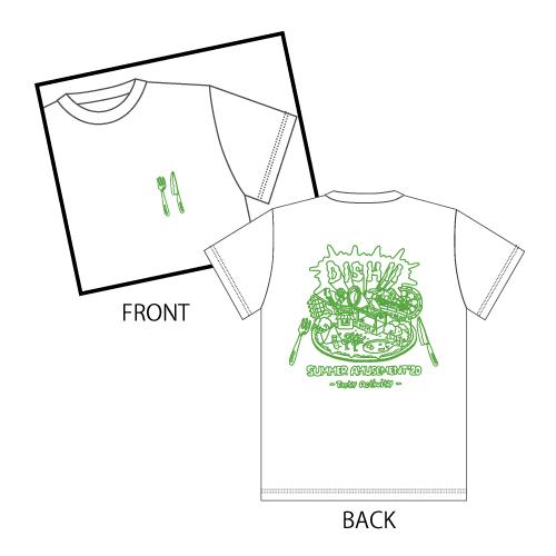 [DISH//]Tasty Activity T-shirt (White)