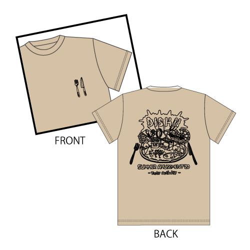 [DISH//]Tasty Activity T-shirt (Lightbeige)