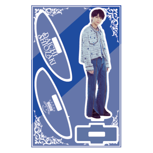 [M!LK]M!LK BEST L!VE TOUR Yurayura Acrylic Stand 【塩﨑太智】