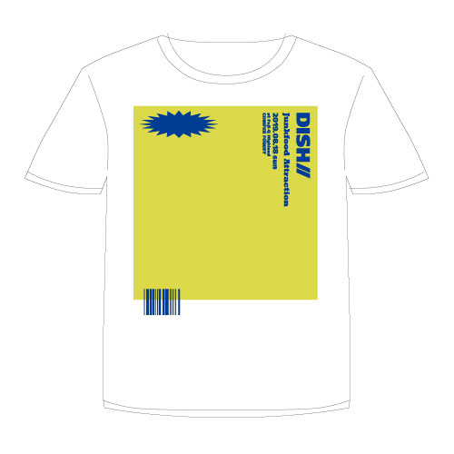 [DISH//]Junkfood Attraction Tshirt 【White】