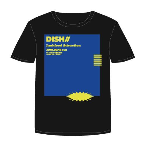 [DISH//]Junkfood Attraction Tshirt 【Vintage Black】