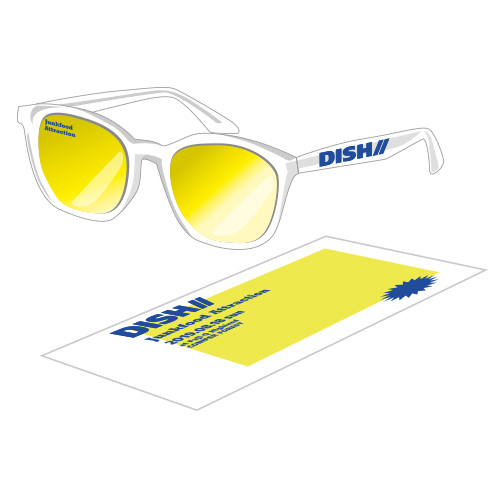 [DISH//]Junkfood Attraction Clear Sunglasses