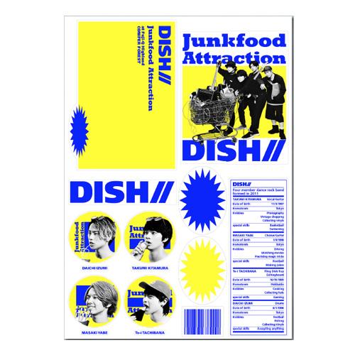 [DISH//]Junkfood Attraction Sticker Sheet