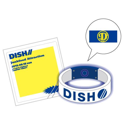 [DISH//]Junkfood Attraction Light Bangle(Blue)