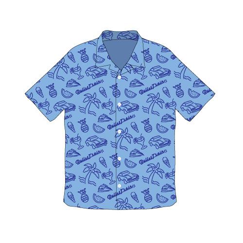 [超特急]2018 Summer Aloha Shirts(青)