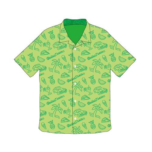 [超特急]2018 Summer Aloha Shirts(緑)