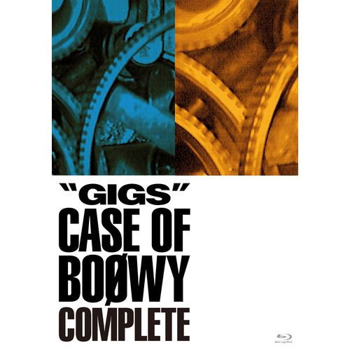 """【BOØWY】『""""GIGS""""CASE OF BOOWY COMPLETE』Limited BOX"""
