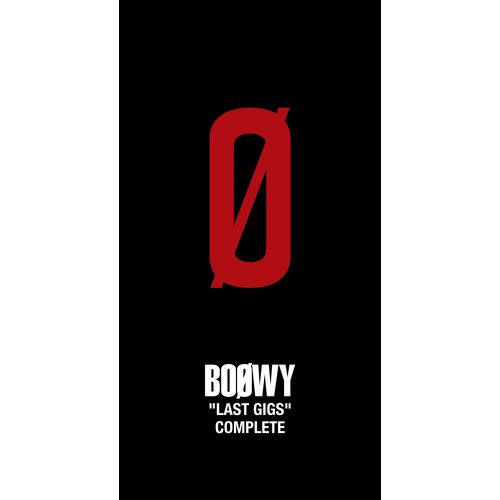 """【BOØWY】『""""LAST GIGS"""" COMPLETE』Limited BOX"""