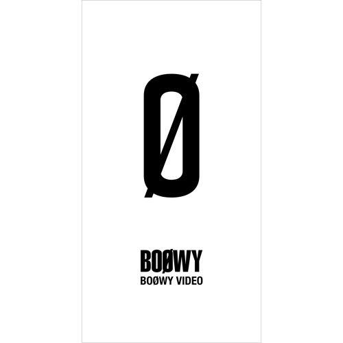 【BOØWY】『BOØWY VIDEO』Limited BOX
