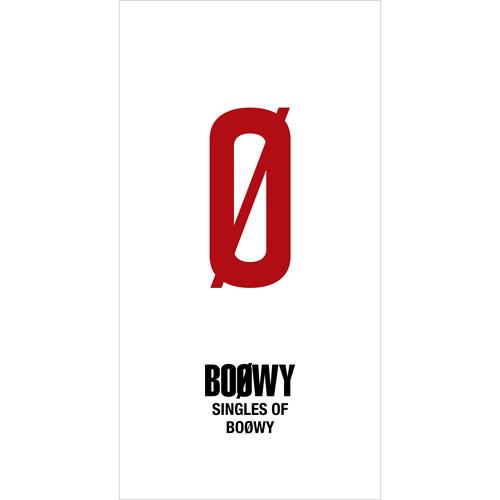 【BOØWY】『SINGLES OF BOOWY』Limited BOX
