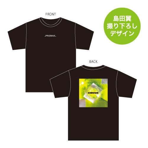 [PRIZMAX]Level8 CIRCUS Tシャツ【ディープブラック】