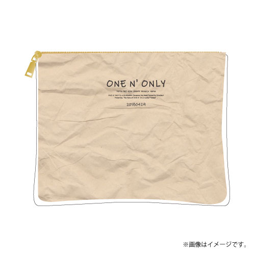 [ONE N' ONLY]ONE N' ONLY PVCタイベックポーチ