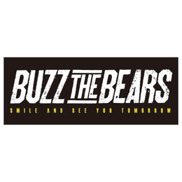 BUZZ THE BEARS OFFICIAL TOWEL/BLACK×WHITE