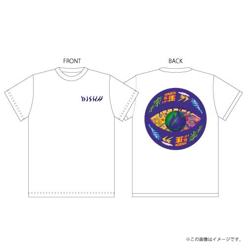 [DISH//]DISH// 森羅万象 T-shirts【White】