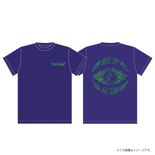 [DISH//]DISH// 森羅万象 T-shirts【Earth Blue】