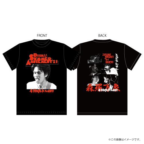 [DISH//]DISH// 森羅万象 Band T-shirts