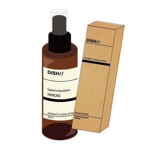 [DISH//]Tasty Activity Aromatic Room Spray HINOKI(TAKUMI)