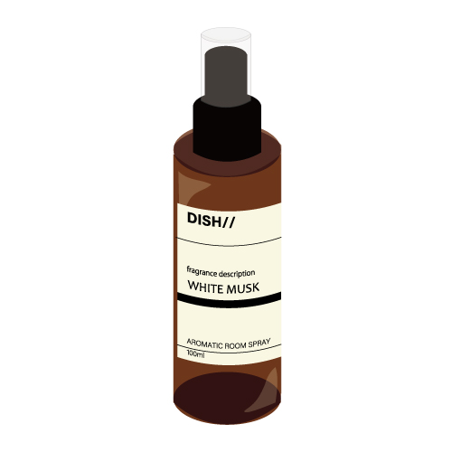 [DISH//]Tasty Activity Aromatic Room Spray WHITE MUSK (To-i)