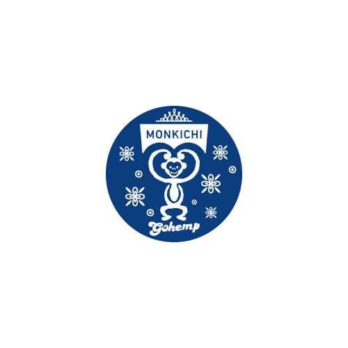 モン吉×GOHEMP オリジナルバンダナセット (バッジ付)