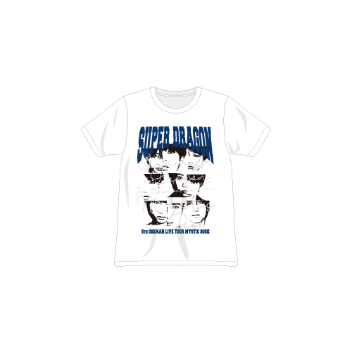 [SUPER★DRAGON]MYSTIC BOOK Tshirt(White)