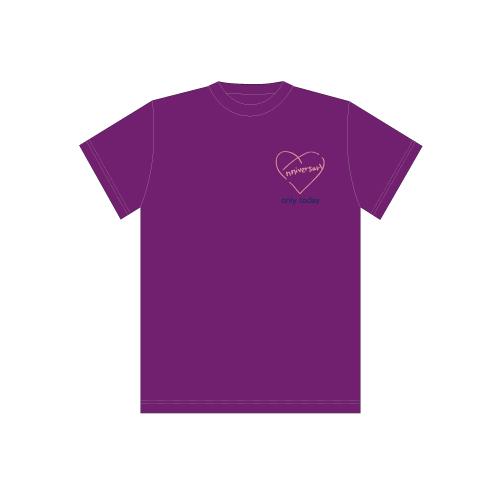 [超特急]BULLET TRAIN 8th Anniversary Special T-shirts(紫)