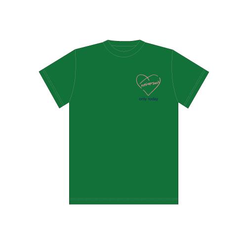 [超特急]BULLET TRAIN 8th Anniversary Special T-shirts(緑)