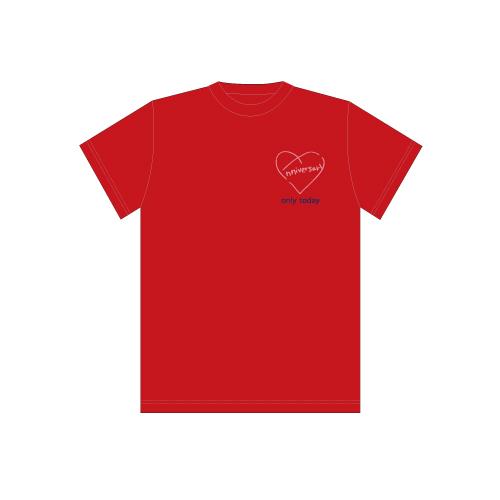 [超特急]BULLET TRAIN 8th Anniversary Special T-shirts(赤)