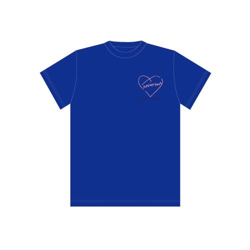 [超特急]BULLET TRAIN 8th Anniversary Special T-shirts(青)
