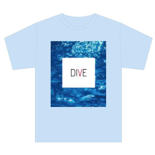 [PrizmaX]Level 5 DIVE Tシャツ(ライトブルー)