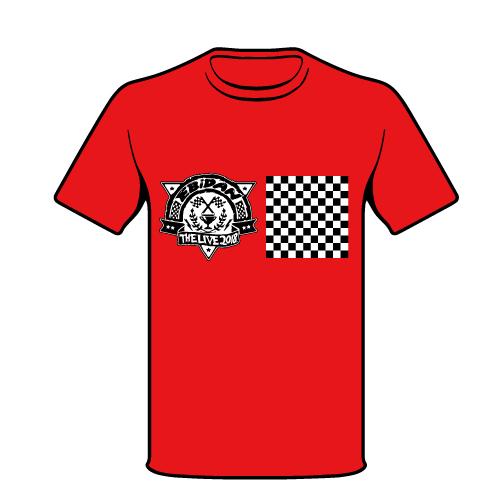 [EBiDAN]EBiDAN THE LIVE 2018 Tシャツ【RED】