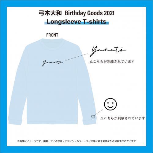 弓木大和 Birthday Goods 2021 Longsleeve T-shirts