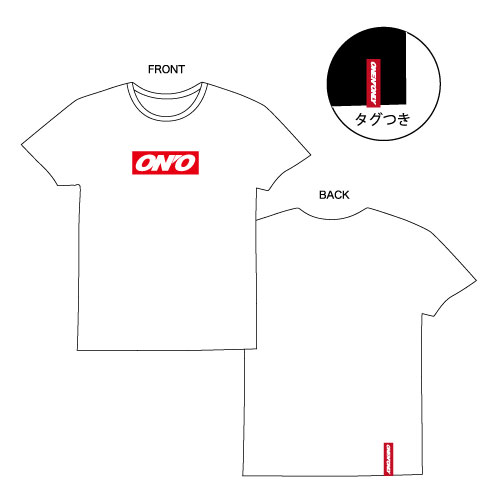 [ONE N' ONLY]ONE N' ONLY Tシャツ #002【ホワイト】