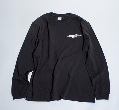 Long Sleeve T shirt・Lonely_Beautiful Beautiful【Charcoal gray】
