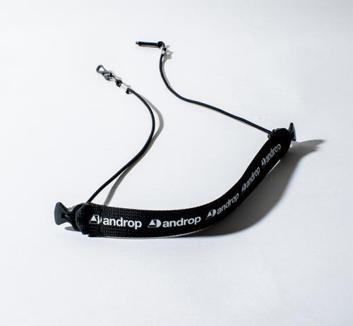 2way Mask Strap【Black】