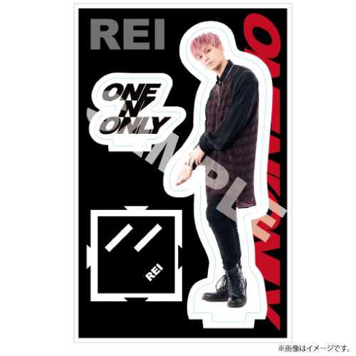 [ONE N' ONLY]ONE N' ONLY アクリルスタンド #001【REI】