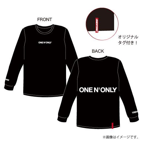 [ONE N' ONLY]ONE N' ONLY ロングスリーブTシャツ #001【ブラック】