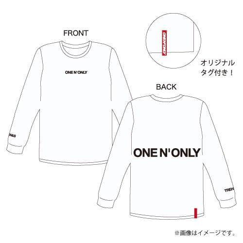 [ONE N' ONLY]ONE N' ONLY ロングスリーブTシャツ #001【ホワイト】