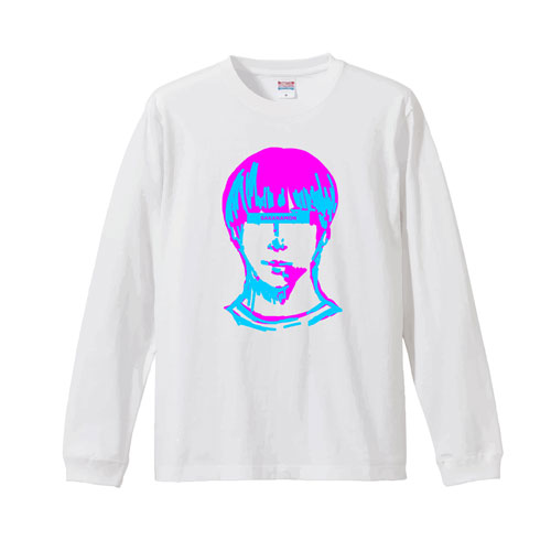 G.N.K. LONG SLEEVE T ホワイト