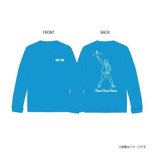 [超特急] Dance Dance Dance Longsleeve T-shirts(青)