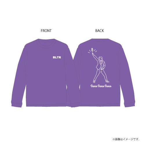 [超特急] Dance Dance Dance Longsleeve T-shirts(紫)
