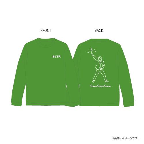 [超特急] Dance Dance Dance Longsleeve T-shirts(緑)