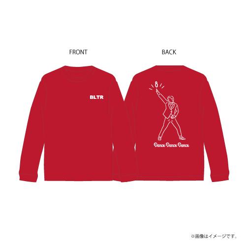 [超特急] Dance Dance Dance Longsleeve T-shirts(赤)