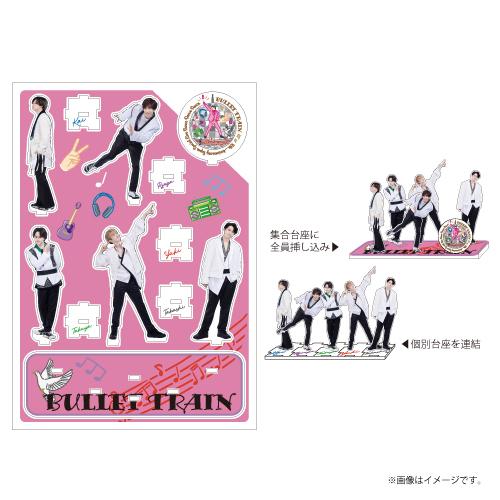 [超特急]Dance Dance Dance Big Acrylic Stand