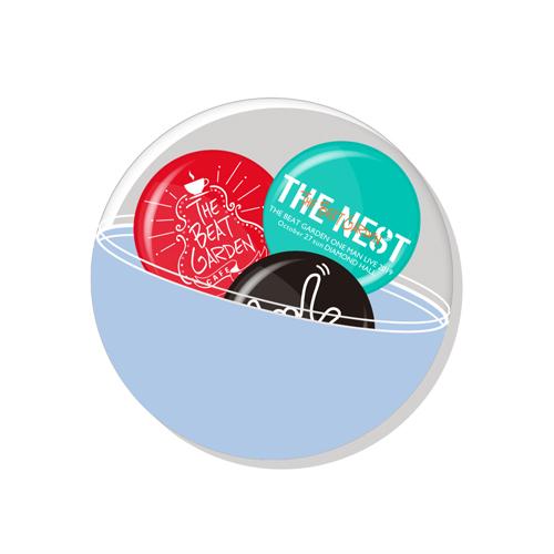 【会場限定】THE NESTランダム缶バッジ