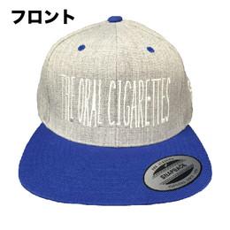 ナロ&ステッチCAP/ヘザーブルー