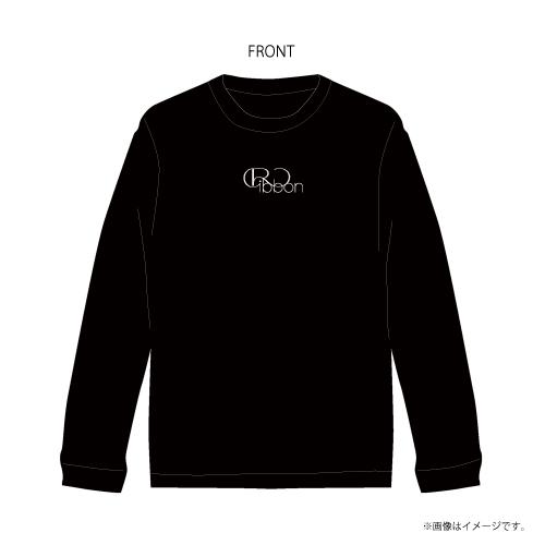 [M!LK]Ribbon ロングスリーブTシャツ【Black(スタダ便限定カラー)】