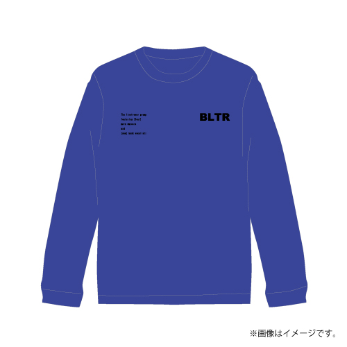 [超特急]Superstar Longsleeve T-shirts(青)