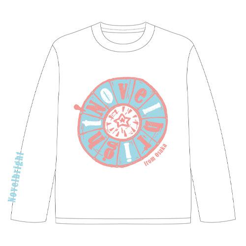 ロングTシャツ/ホワイト