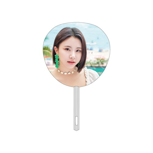 "TWICE POPUP STORE ""Twaii's Shop"" うちわ【CHAEYOUNG】"
