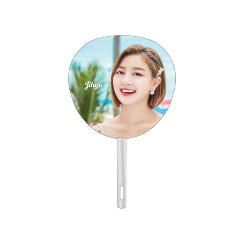 "TWICE POPUP STORE ""Twaii's Shop"" うちわ【JIHYO】"